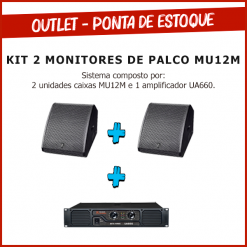 kit 2 monitores de palco B3